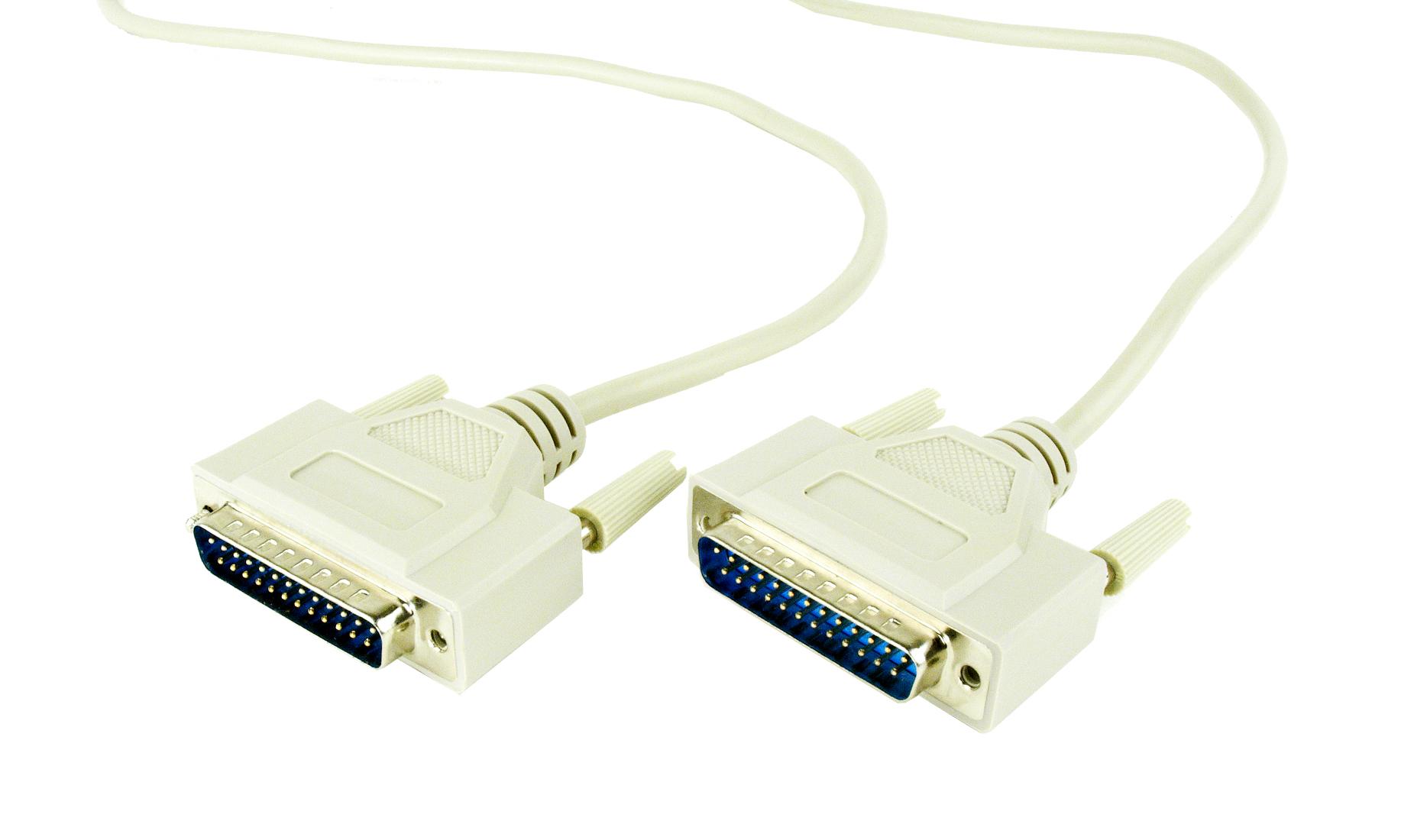 Gembird USB - DB25M RS-232 UAS112